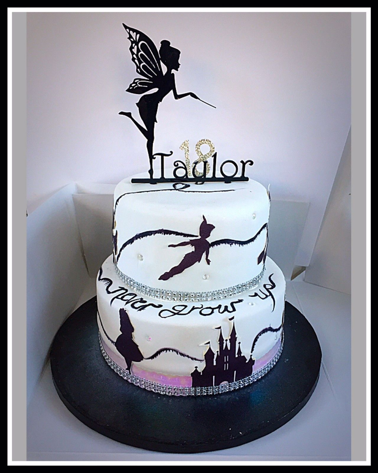 How To Make Silhouettes For Cakes